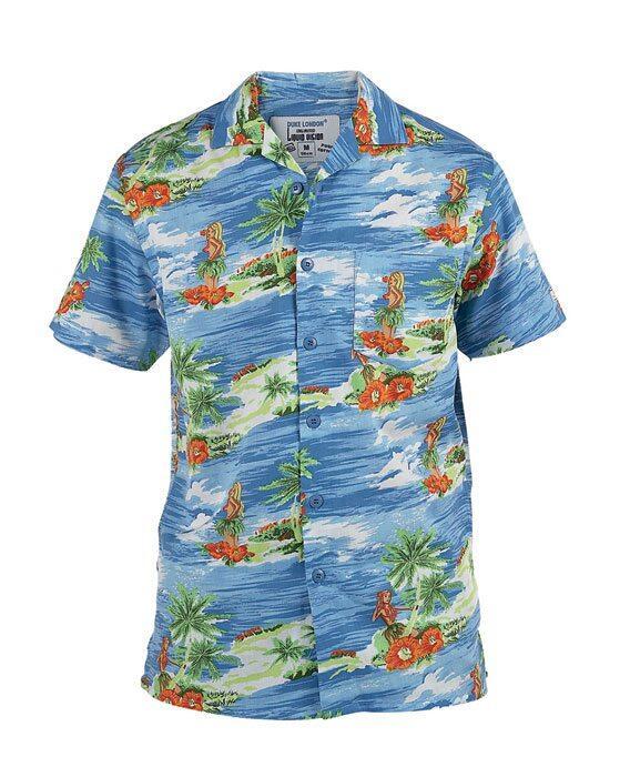 cacd44165d4 Hawaii skjorter i friske farver og store størrelser.
