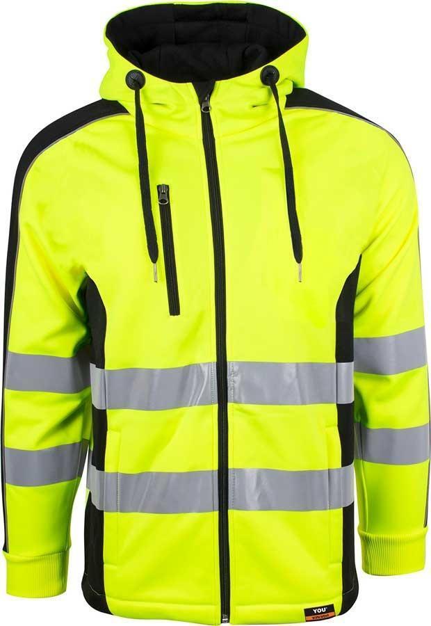 e739e012 Neon gul HI-VI refleks hættejakke - YOU (HALMSTAD)