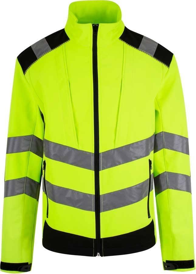 893bf4a4 Neon gul HI-VI refleks softshell jakke fra YOU