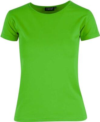 Limegrøn stretch T shirt Camus