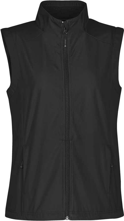 bd13d0544d3 Dame softshell vest i sort - Stormtech (ENDURANCE)