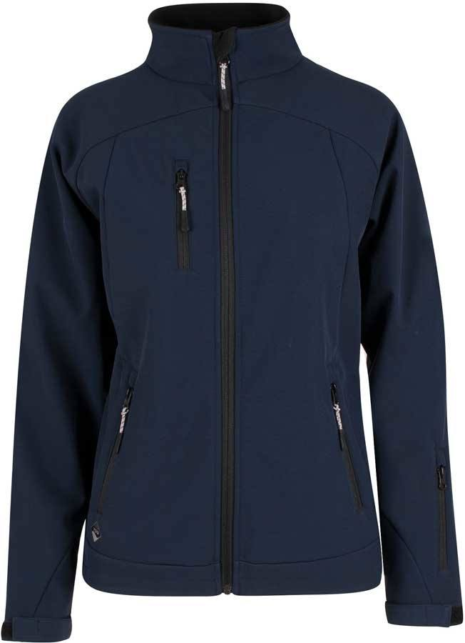 f255697b Navy blå dame softshell jakke - YOU (ALTOONA)