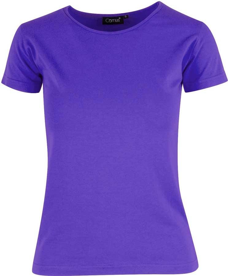 Lilla stretch T shirt Camus